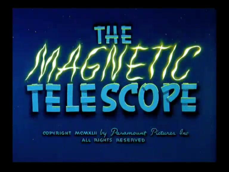 SUPERMAN **The Magnetic Telescope** 1942
