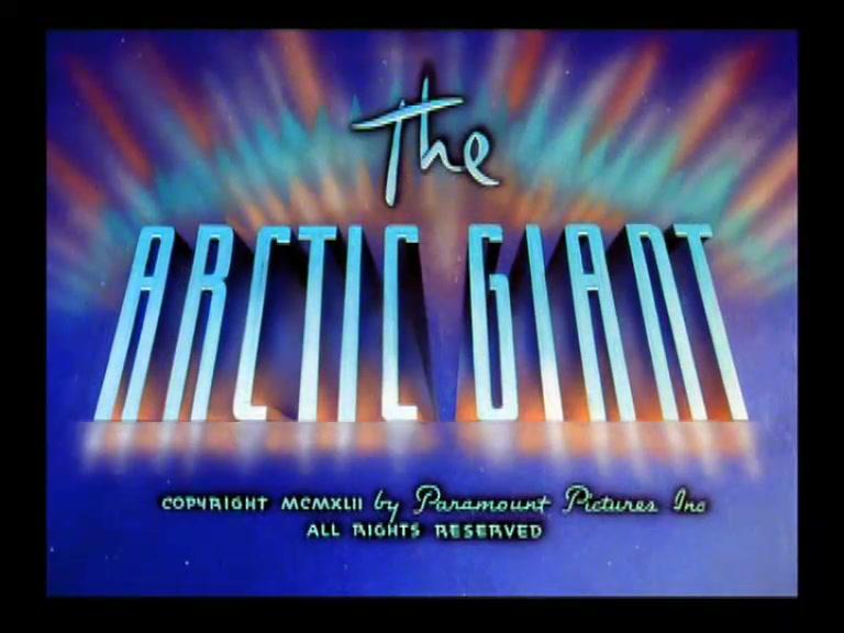 SUPERMAN **The Arctic Giant** 1942