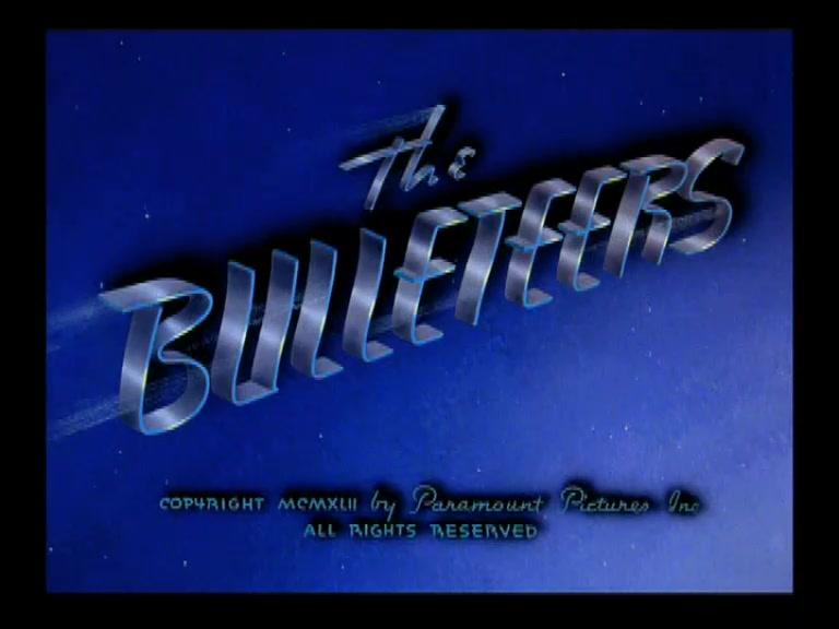 SUPERMAN **The Bulleteers** 1942